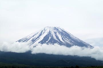 close-up Fuji moutian