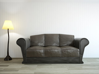 Sofa near the wall