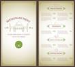 Restaurant menu template - 71700377