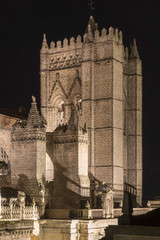 Cathedral of Avila Night