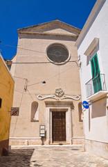 Church of Rosary. Fasano. Puglia. Italy.