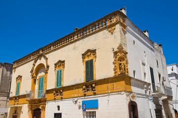 Carrieri palace. Fasano. Puglia. Italy.