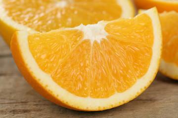 Geschnittene Orangen Früchte