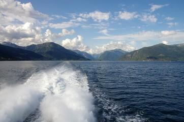 balade sur le Osterfjord