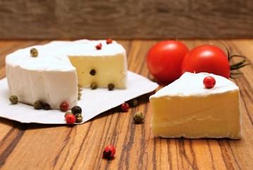 Camembert and pepper