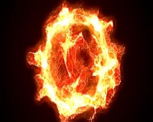 свет пламени