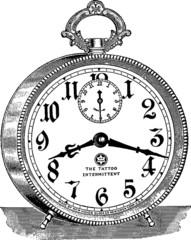 Vintage image alarm clock