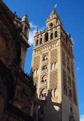 Sevilla, Catedral, Giralda, torre campanario