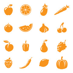 Fruit & Veg Icons