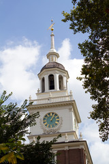 Independence Hall Clock Tower