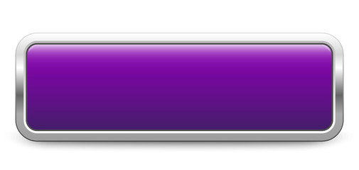 Long rectangular template - purple metallic button