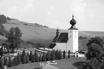 The church in Zehra, Slovakia, in the list of UNESCO.