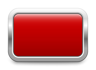 Rectangular template - red metallic button
