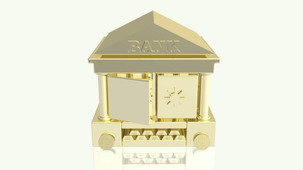 Bank, gold