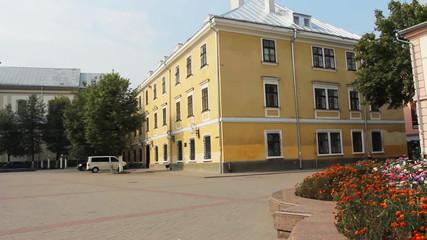 Square Sheptytsky and composition EASTER SUN, Ivano-Frankivsk