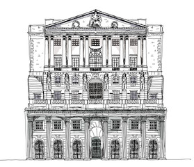 Bank of England, London. Sketch collection