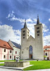 Church of Assumption of the Virgin Mary monastery in Milevsko