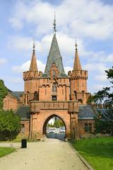 Red castle Hradec nad Moravici, Czech Republic