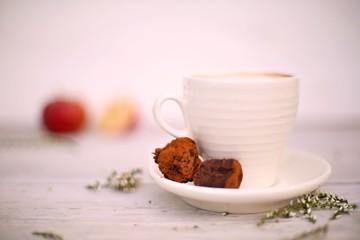Sweet Dark Chocolate and Apple Truffles