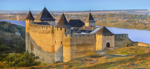 fort Khotin in Ukraine