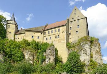 Medieval Castle Wiesentfels in Upper Franconia, Bavaria, Germany