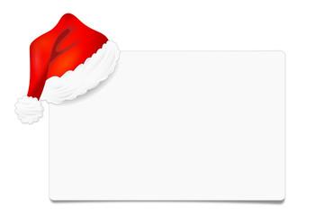 Karte Mütze Weihnachten