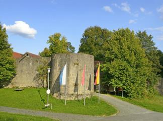 Waischenfeld - old caste ruin in Bavaria, Germany