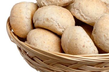 Bröd i brödkorg