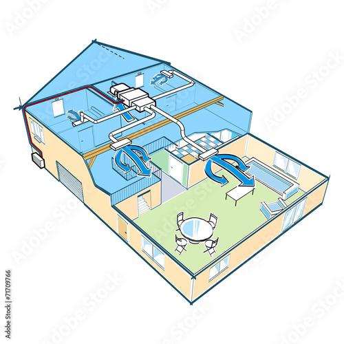 Maison climatisée - 71709766