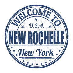Welcome to New Rochelle stamp