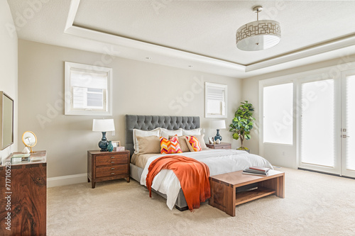 Beautiful Furnished Bedroom in New Luxury Home  - 71710523