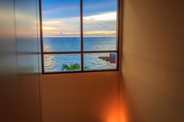 Room Window Sea View