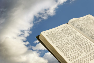 Bible With Clouds