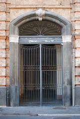 Italian iron gate
