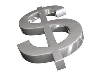 Dollar 3D Concept Silver