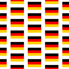 Germany flag seamless pattern