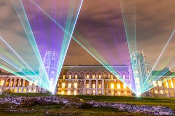 Фестиваль Круг Света. Лазерное шоу