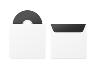 black compact disk