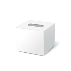 blank tissue box