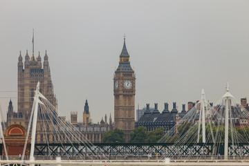 Big Ben in Westminster, London England UK