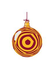 Weihnachtskugel ringe