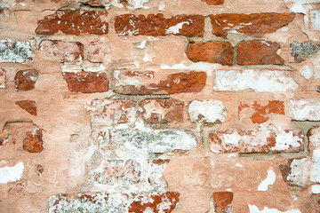 old brick wall . Background of brick wall texturev