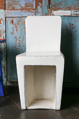 ceramic chair