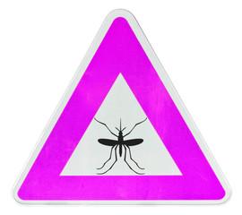 panneau danger moustiques