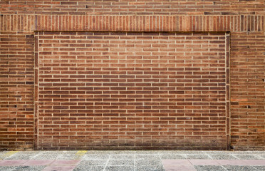 Detailed brick wall background photo texture