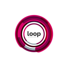 Loop, infinity business icon