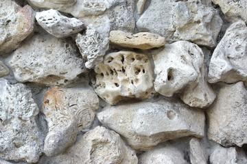 Old  Boulder Wall