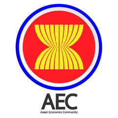 AEC symbol. Vector illustration