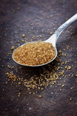 Brown sugar closeup