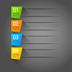 abstract vector banners